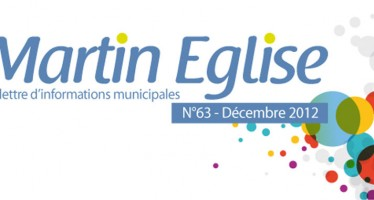 La lettre d'informations municipales – Décembre 2012