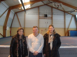 Le bureau : Evelyne,Eric et Ghislaine