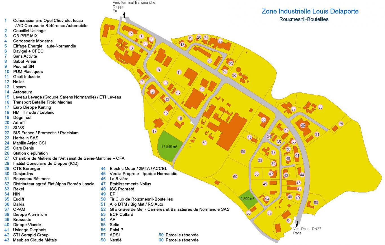 Zone louis delaporte site officiel de la commune de for Zone commune