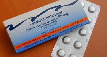 Distribution règlementaire préventive de comprimés d'iode