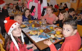 Repas de Noël aux écoles