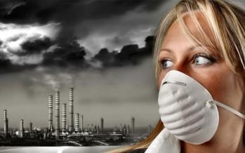 Pollution de l'air par les particules en suspension