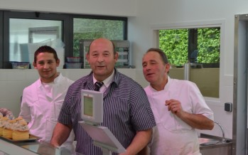 Ouverture de la boucherie place Mayenne