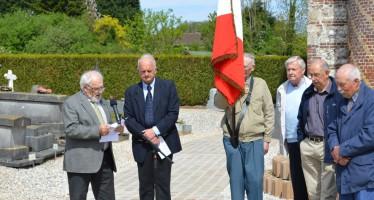 Cérémonie du 70ème anniversaire de la victoire du 8 mai 1945