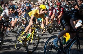 Jeudi 9 juillet 2015 : Passage du tour de France.