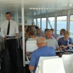 Déjeuner sur le bateau