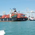 Un port conteneur