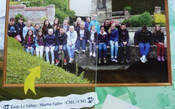 Les élèves de CM1/CM2 ont participé à Objectif Manche