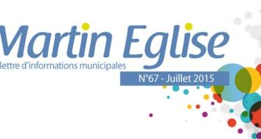 La lettre d'informations municipales – Juillet 2015