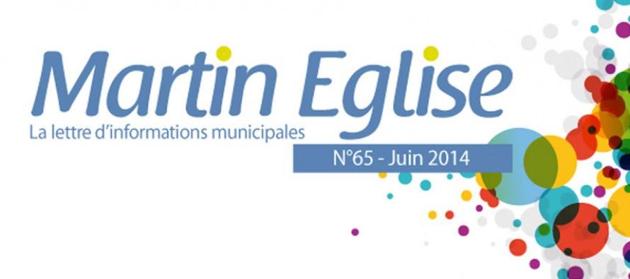 La lettre d'informations municipales – Juin 2014