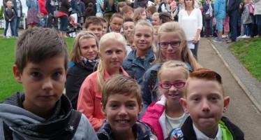 """Rentrée scolaire 2015-2016 à l'école """"Les Vallons"""""""