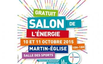 Salon de l'énergie le samedi 10 octobre et le dimanche 11 octobre