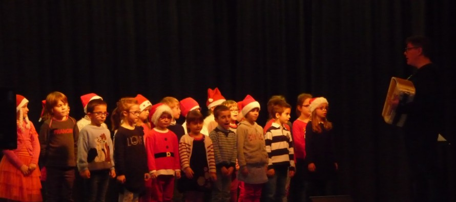 Noël au groupe scolaire le Vallon