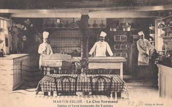 Film sur le village de Martin-Eglise au début du siècle dernier