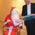 Mr Gerryl avec le père Noël
