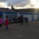 Exercice d'évacuation du groupe scolaire Le Vallon