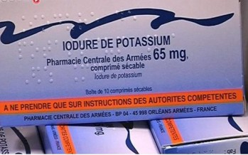 Campagne de distribution de comprimés d'iode