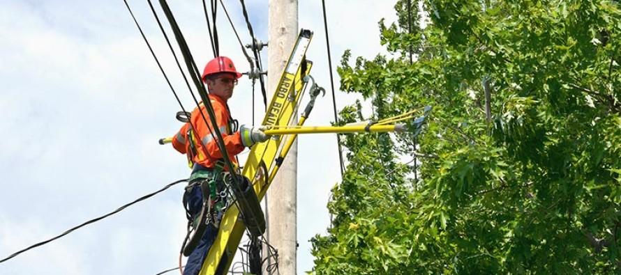 Travaux sur le réseau de transport d'électricité