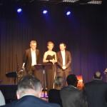 Le trio Cécile Charbonnel