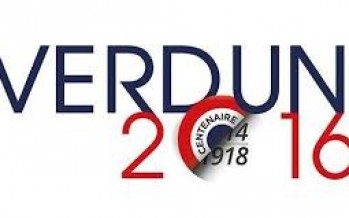Cérémonie commémorative du centenaire de la bataille de Verdun