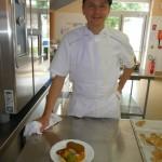 Notre chef étoilé Laurent Kleczewski