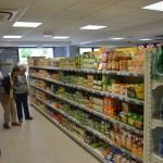 Inauguration de l'épicerie