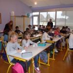 Les élèves en classe