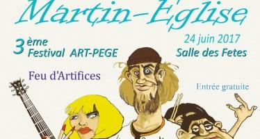 Samedi 24 juin : 3ème édition du Festival Art-Pège