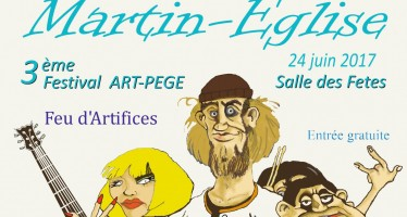 Samedi 24 juin Programmation du 3ème festival ArtPège