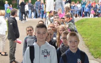 La rentrée scolaire au groupe scolaire Le Vallon