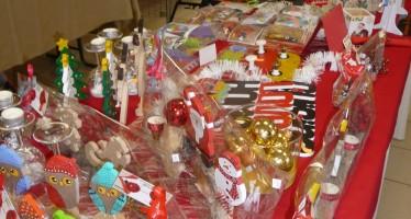 Le marché de Noël perturbé par les mauvaises conditions météorologiques