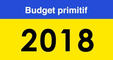 Note de présentation du budget primitif 2018