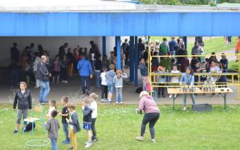 Kermesse au groupe scolaire Le Vallon