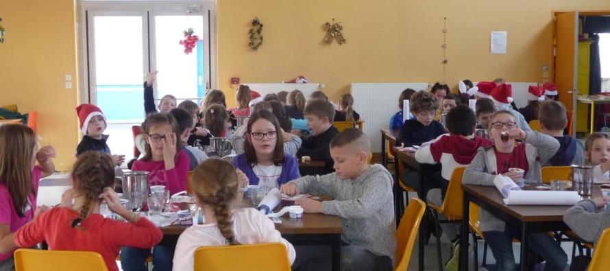 Noël au restaurant scolaire