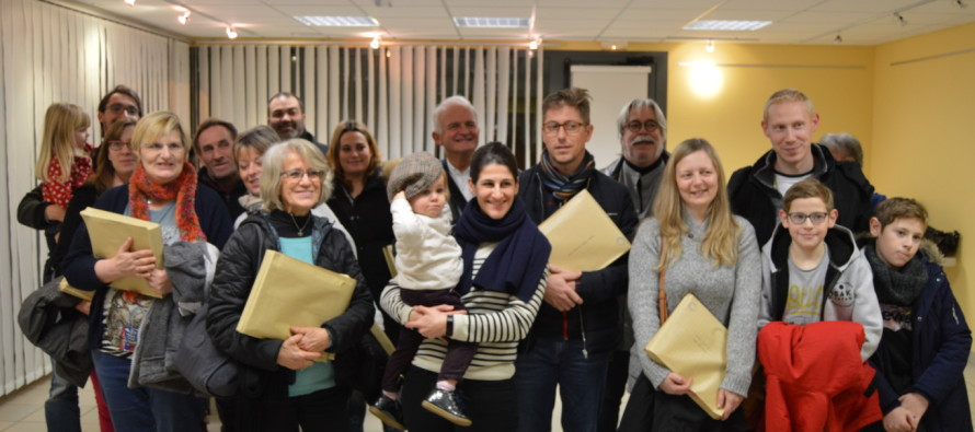 25 nouvelles familles se sont installées dans notre commune au cours de l'année 2018.