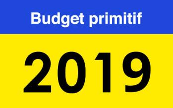 Note de présentation du budget primitif 2019