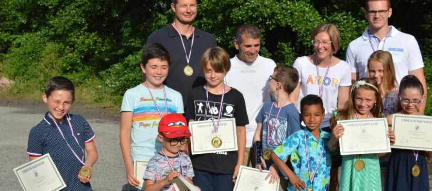 Les jeunes du club de judo mis à l'honneur