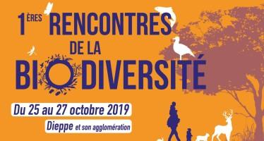 1ères Rencontres de la Biodiversité du 25 au 27 octobre 2019