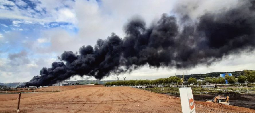 Incendie Lubrizol à Rouen