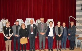 Cérémonie de remise de médailles d'honneur régionale, départementale et communale