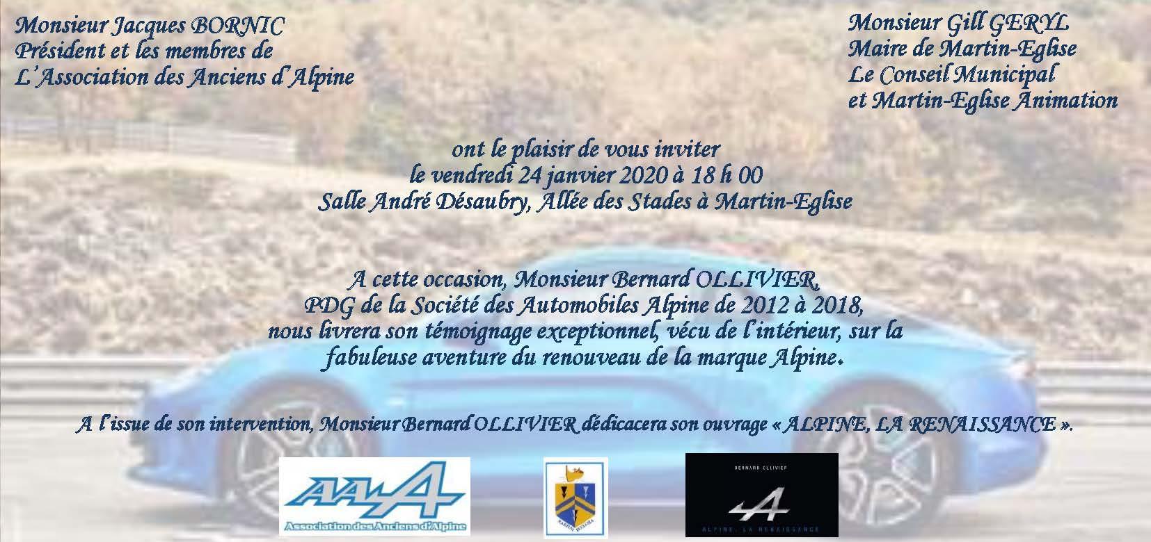 INVITATION CONFERENCE ALPINE 2