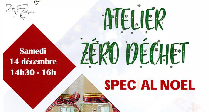 Samedi 14 décembre : atelier zéro déchet