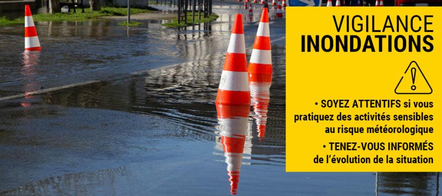 Conditions météorologiques difficiles et grandes marées : Appel à la prudence