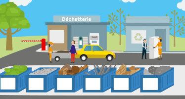 Ouverture de la déchèterie communautaire aux artisans et TPE du BTP de Dieppe-Maritime