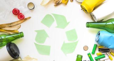 Déchets recyclables et déchets verts