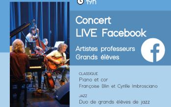 Le conservatoire Camille Saint-Saëns vous propose un concert ce jeudi 3 décembre