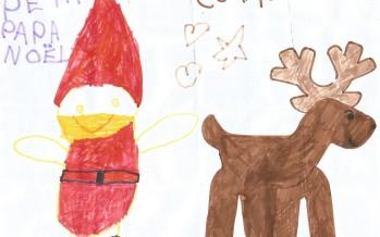 Le Père Noël est venu à la maternelle Les Farfadets