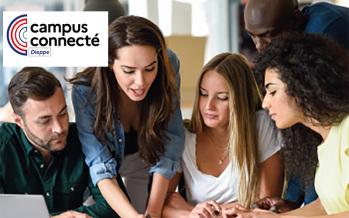 Nouveau : Dispositif Campus connecté Dieppe